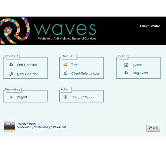 Wavescreen